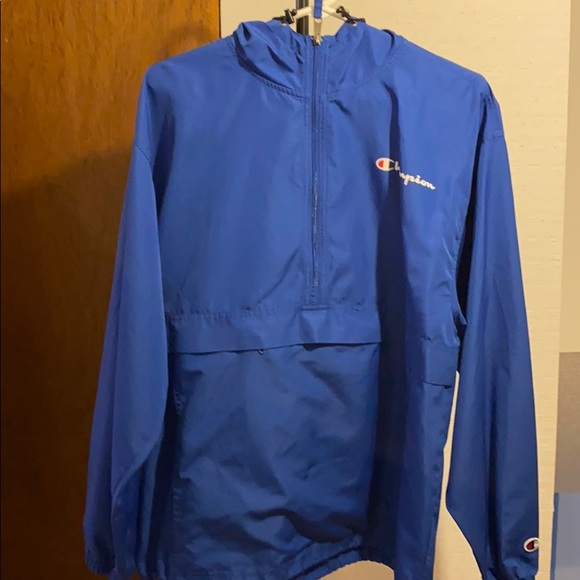 Blue Champion Windbreaker